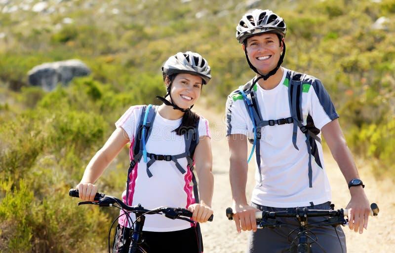 Coppie della bici immagine stock