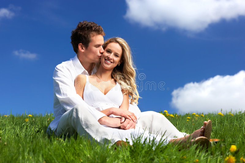Coppie di amore immagini stock libere da diritti