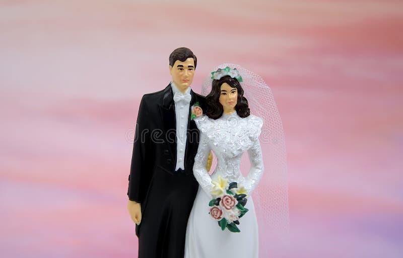 Coppie di cerimonia nuziale immagini stock