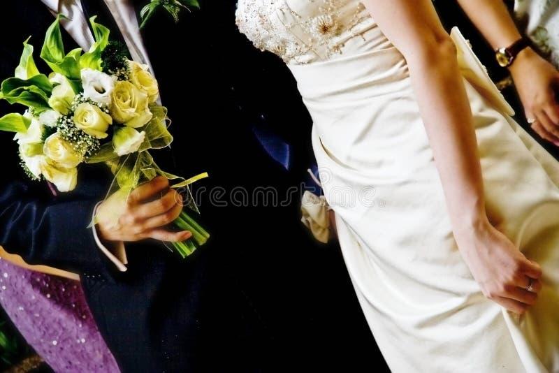 Coppie di cerimonia nuziale fotografia stock