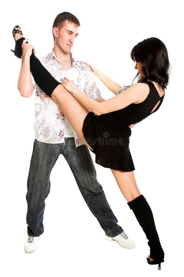 Coppie di Dancing immagine stock libera da diritti