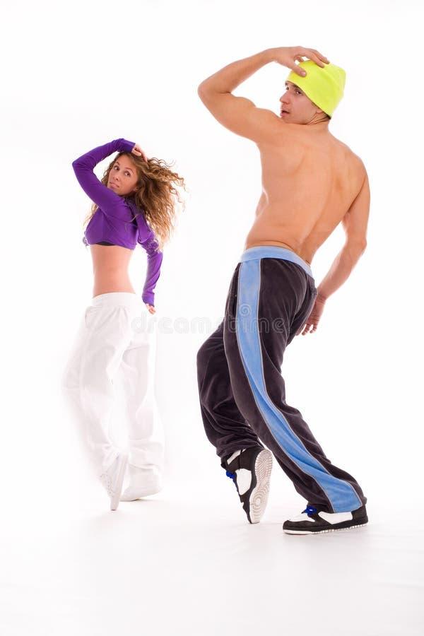 Coppie di Dancing fotografie stock libere da diritti