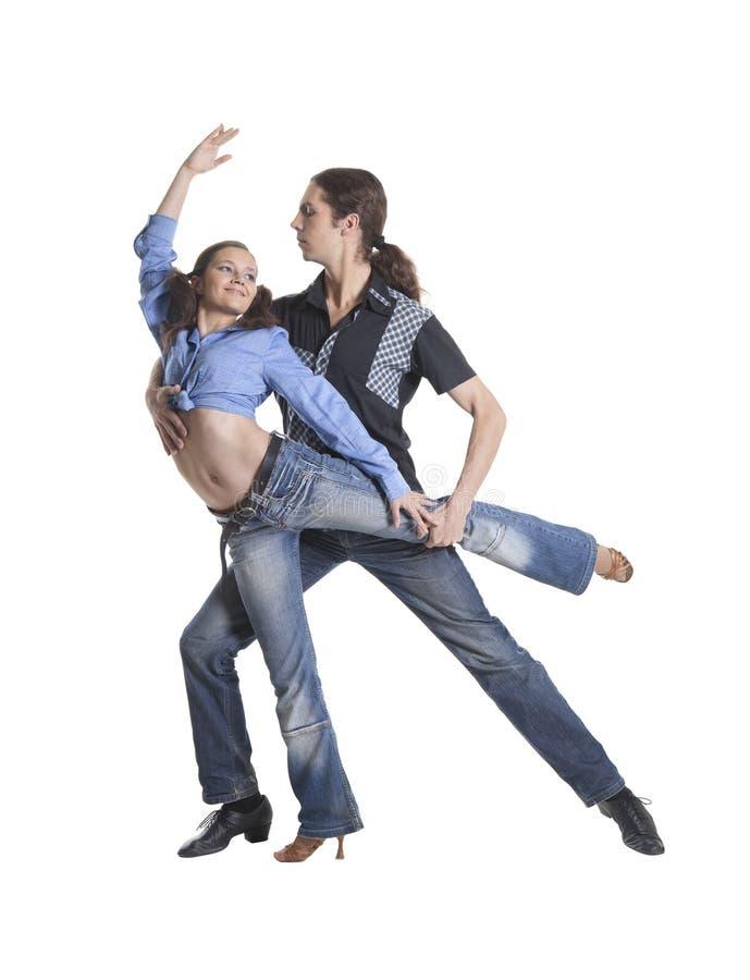 Coppie di dancing fotografia stock libera da diritti