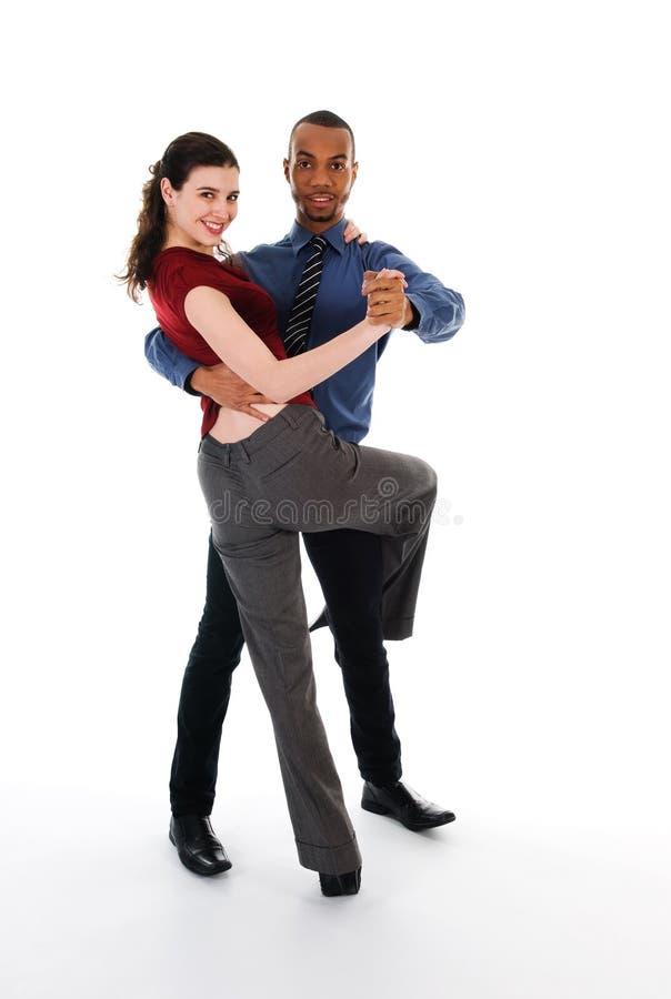 Coppie di Dancing immagine stock