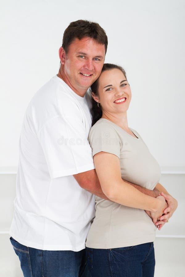 Coppie felici immagine stock