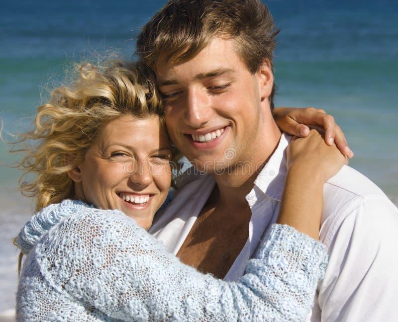 Coppie felici. fotografia stock libera da diritti