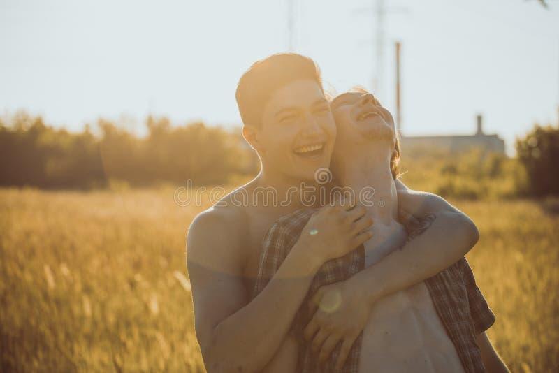 Coppie gay amorose immagini stock