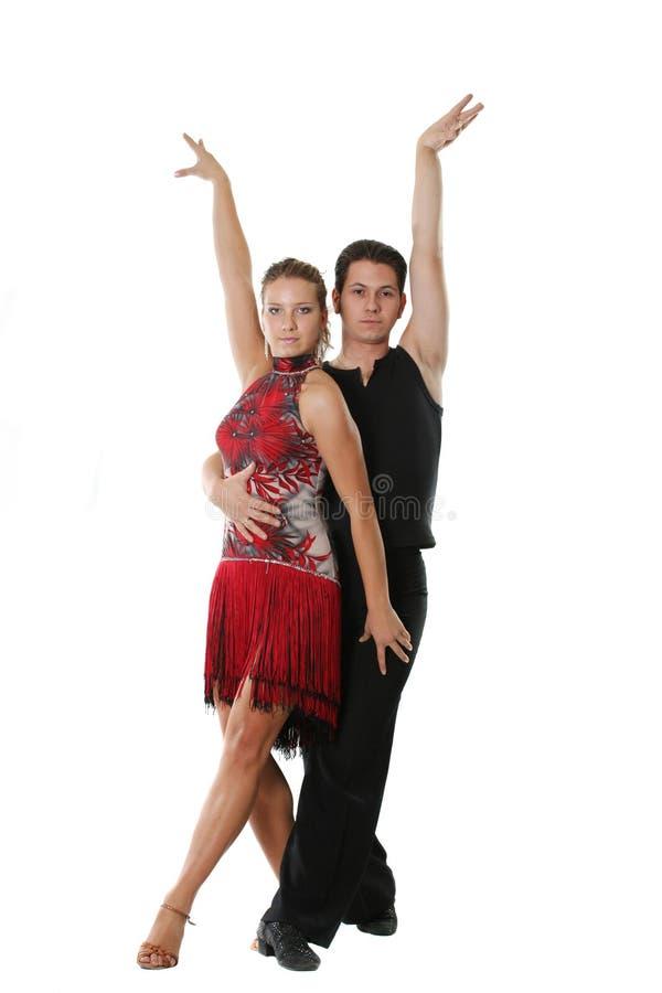 Coppie latine di dancing immagine stock libera da diritti