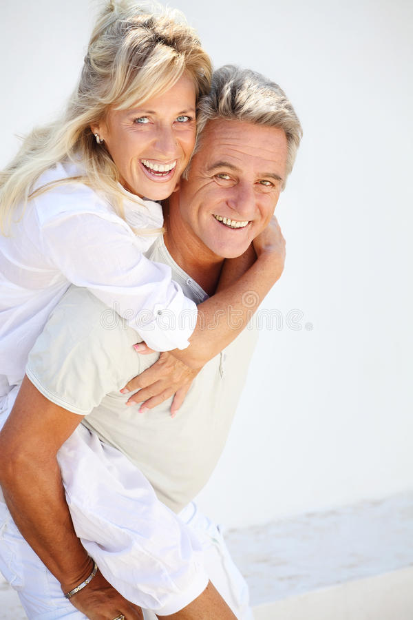Coppie mature felici immagine stock libera da diritti