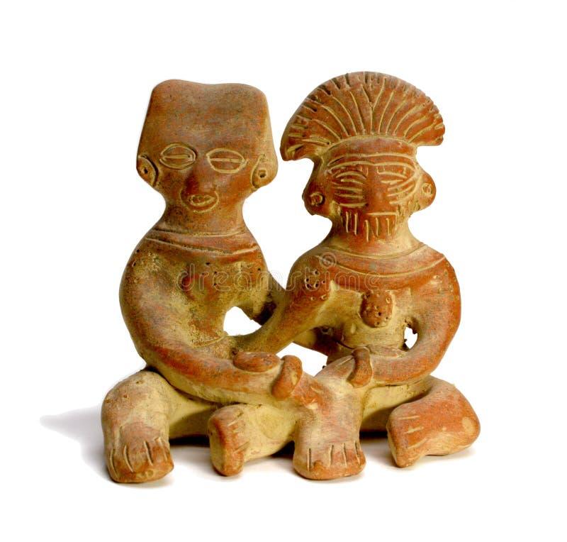 Coppie Mayan fotografie stock libere da diritti
