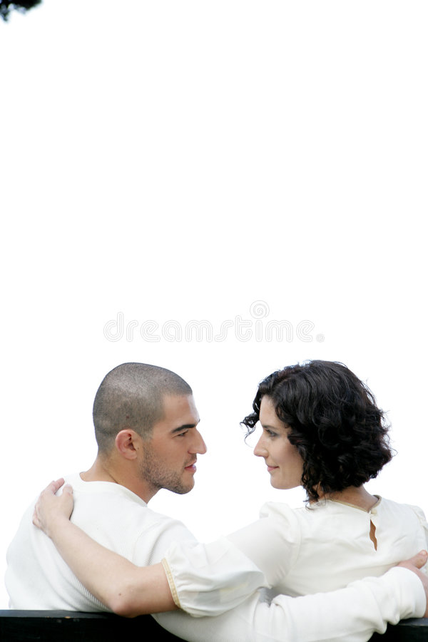 Coppie nell'amore fotografie stock libere da diritti