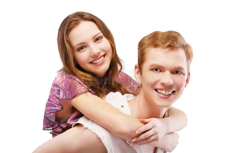 Coppie Red-haired fotografia stock libera da diritti
