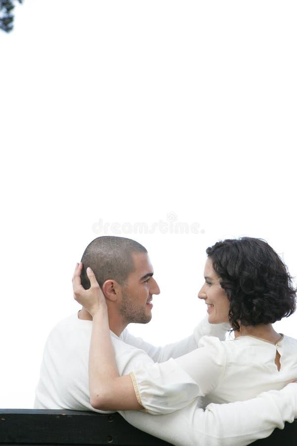Coppie romantiche immagine stock libera da diritti