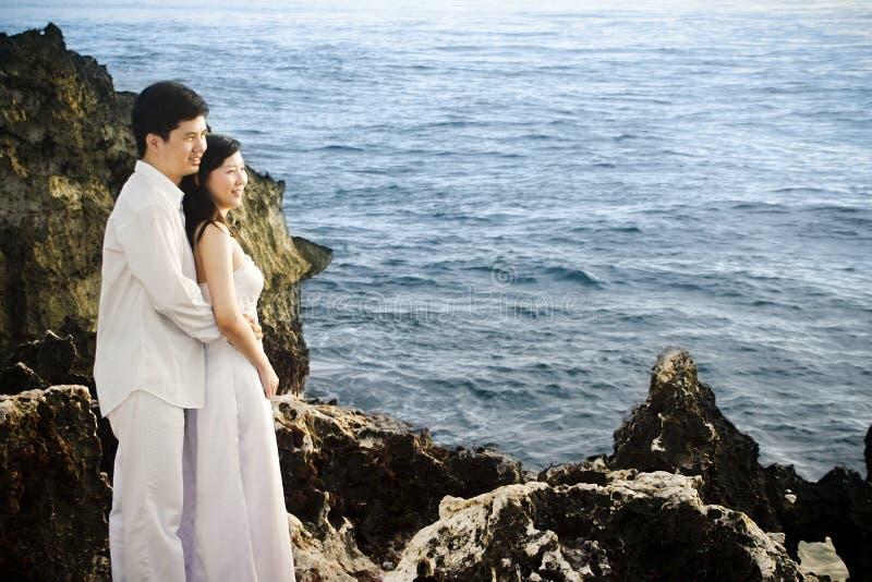 Coppie romantiche fotografia stock libera da diritti