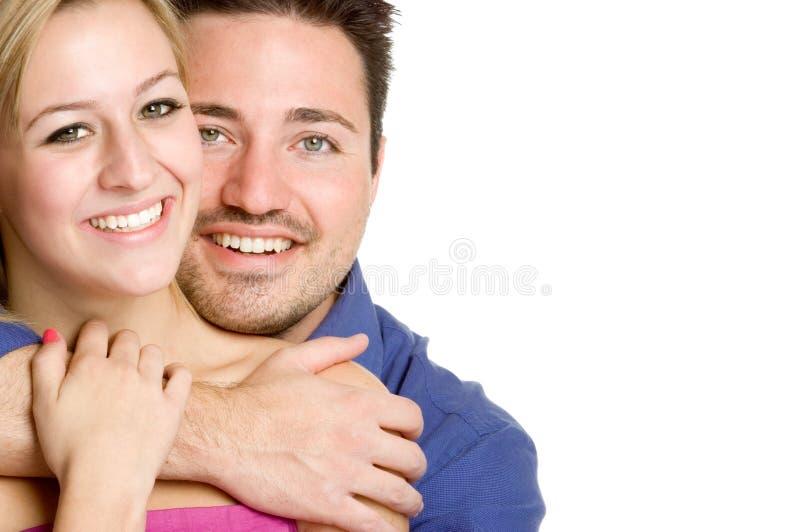 Coppie sorridenti fotografia stock libera da diritti