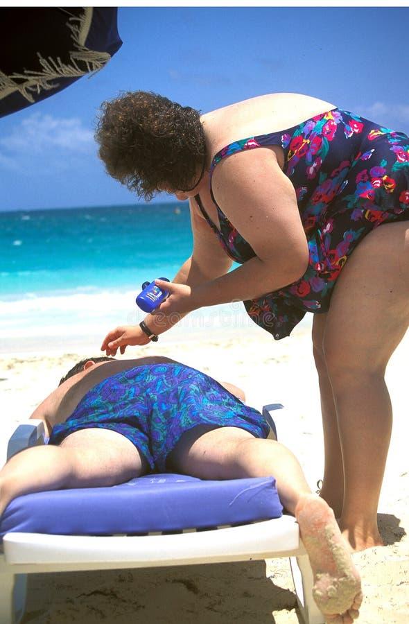 Coppie sulla vacanza fotografia stock libera da diritti