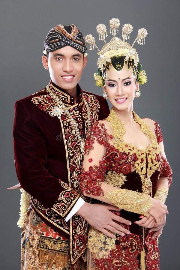 Download Coppie Tradizionali Di Nozze Di Java Immagine Stock - Immagine di bride, uomini: 30829811