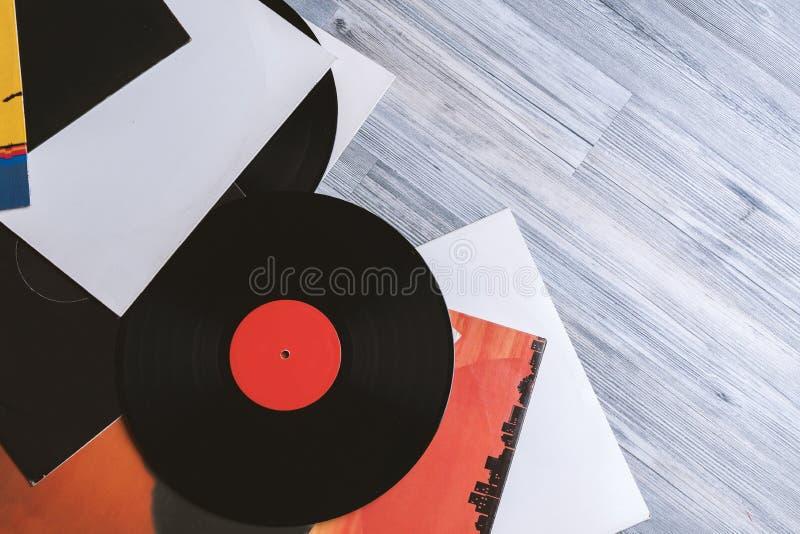 Copre l'album su fondo grigio fotografie stock