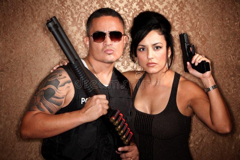 Cops Undercover images libres de droits