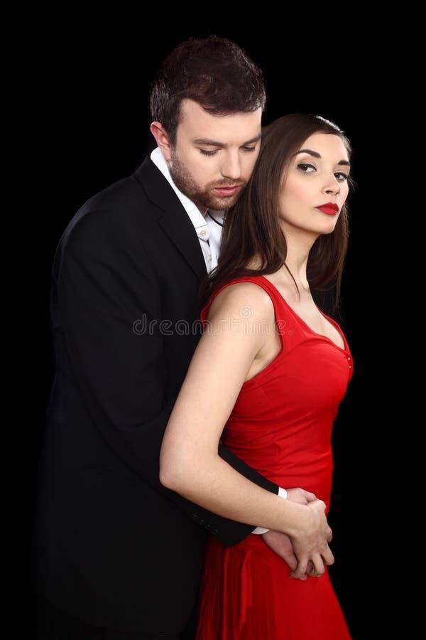 Copule romantico immagine stock libera da diritti