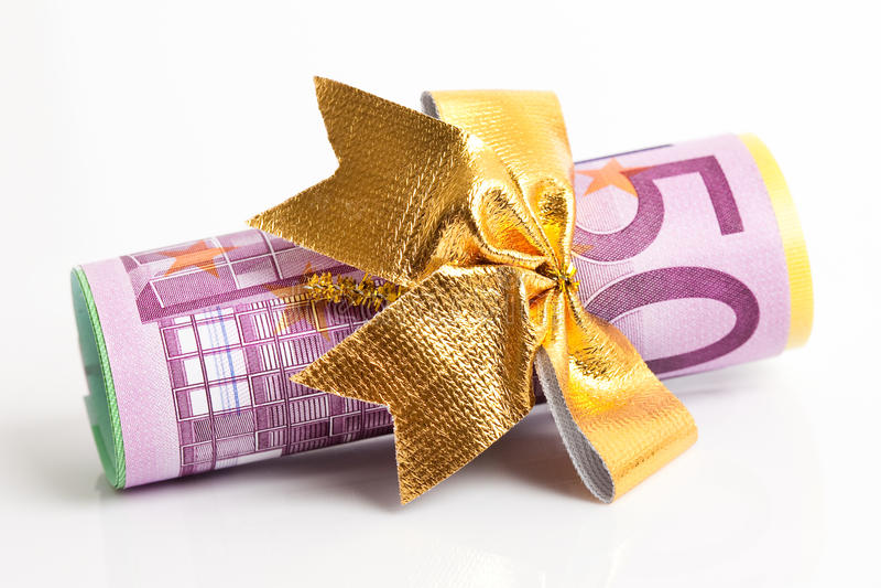 Copulla del euro foto de archivo