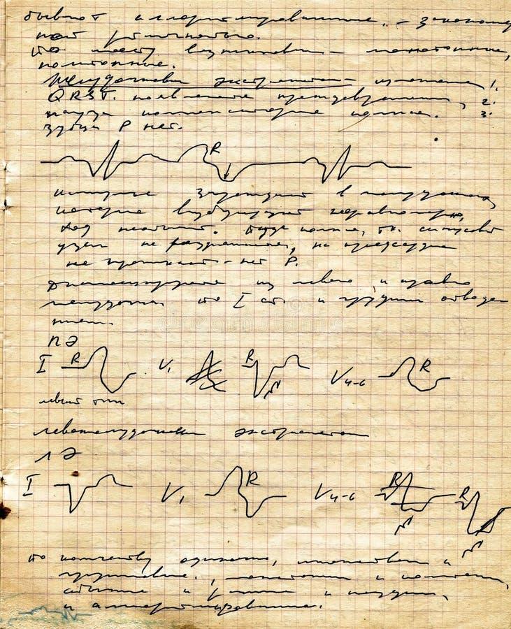 Download Copy-book Viejo De La Paginación Foto de archivo - Imagen de extracto, marco: 7151232