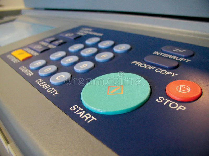 Copy machine royalty free stock image