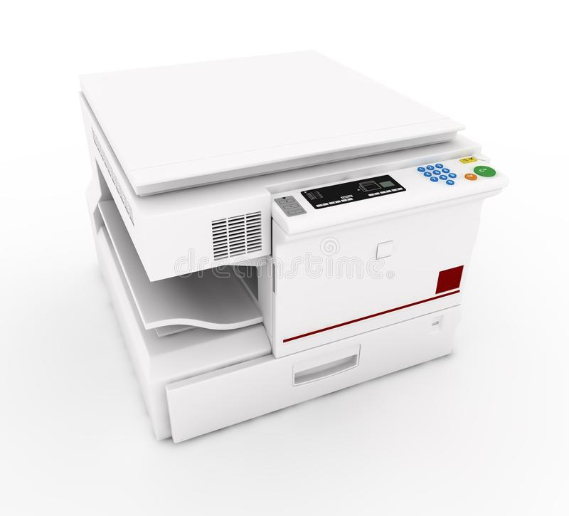 Copy Machine 2 Royalty Free Stock Photo