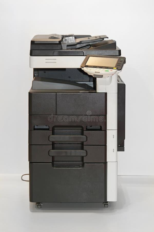 Copy machine. Photocopier copy machine in office stock image