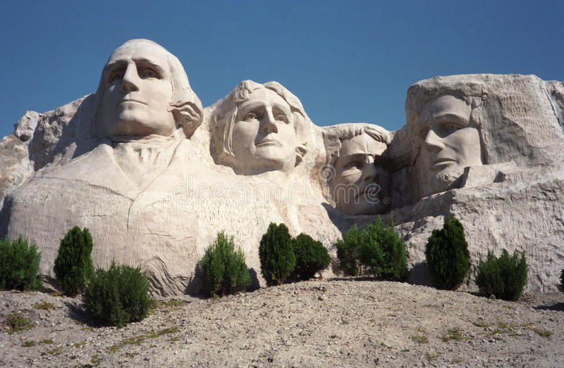 Copy of Mt. Rushmore, Windows on China, Taiwan stock photography
