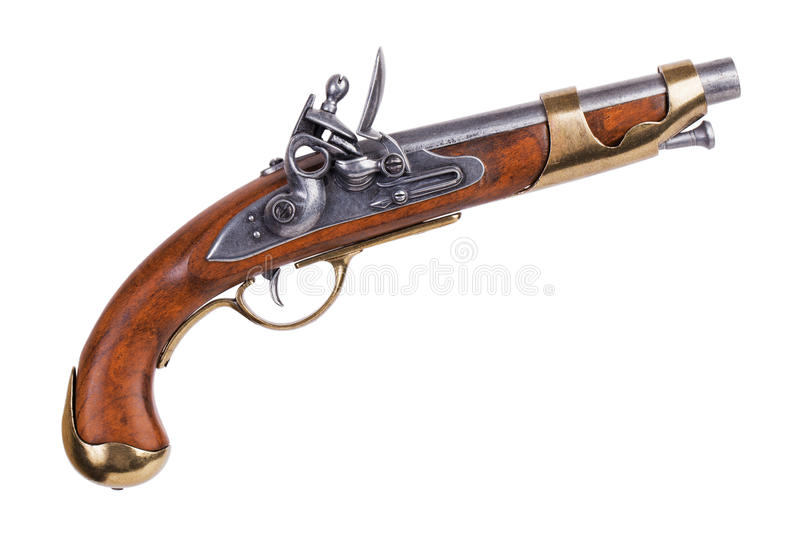 Copy of an old gun royalty free stock image