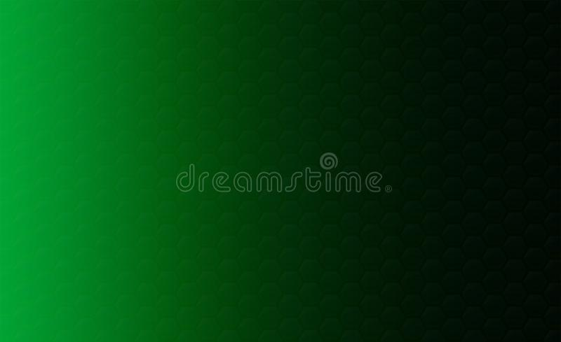 Copy space,abstract background concept of geometric graphic seamless green hexagon stock illustration
