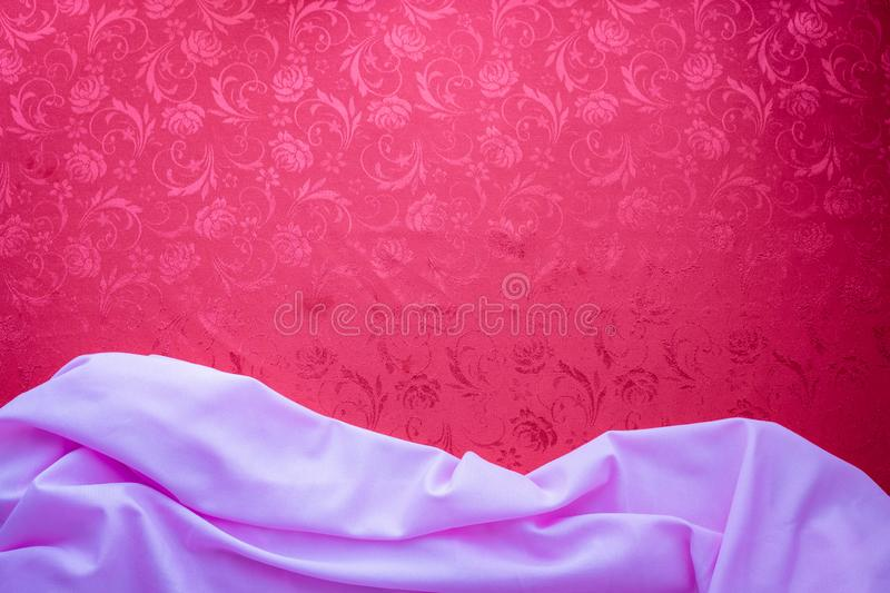 Copy space for text on red texture background, concept of Chinese new year background royalty free stock photo