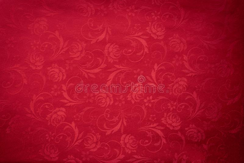 Copy space for text on red texture background, concept of Chinese new year background stock images