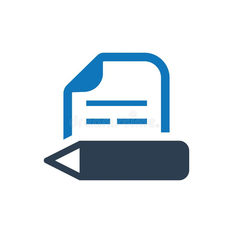 Article Writing Icon vector illustration