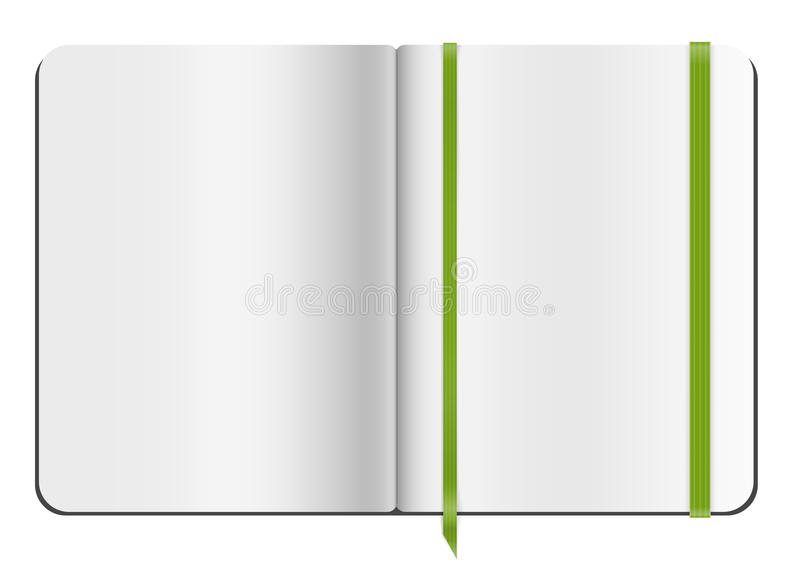 Copybook Template Stock Vector  Image