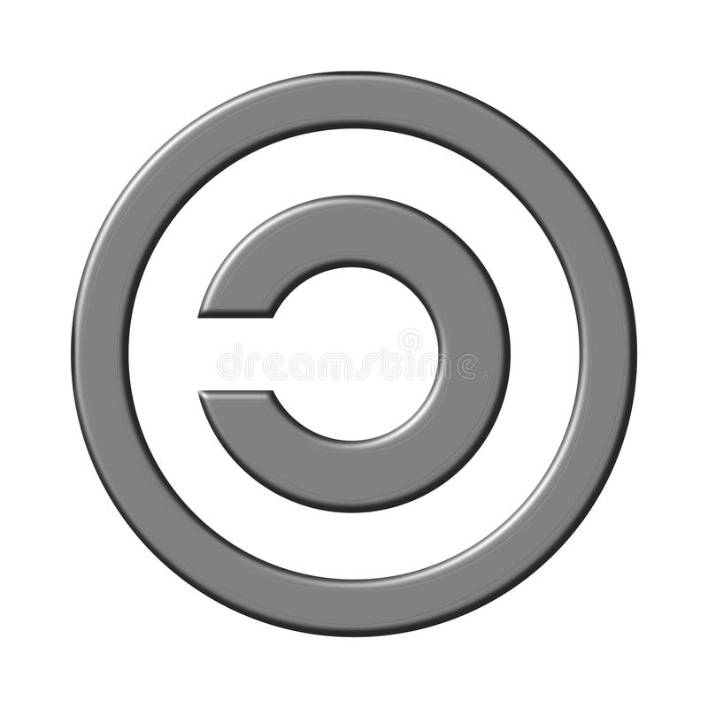 Free Copyleft Sign Stock Photography - 19029232