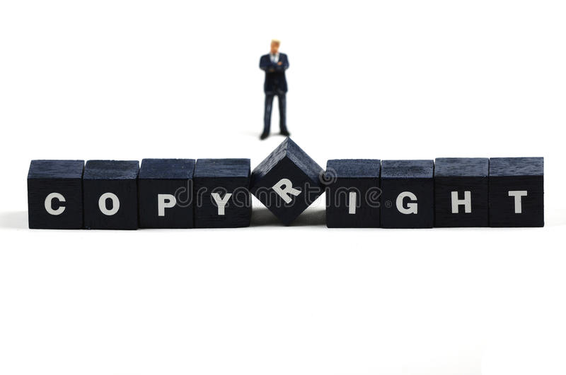 Download Copyright stock photo. Image of figurine, business, license - 11856154