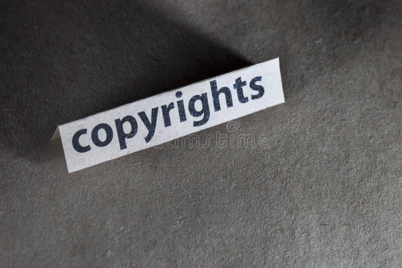 Copyright immagini stock libere da diritti