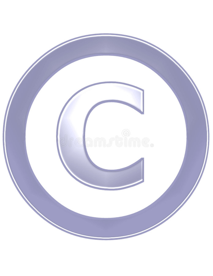 Copyright stock abbildung