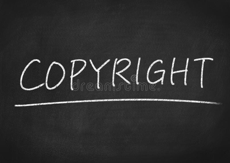 Copyright royalty free stock photo