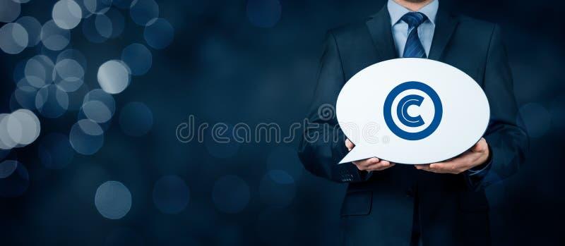 Copyright e proprietà intellettuale fotografia stock libera da diritti