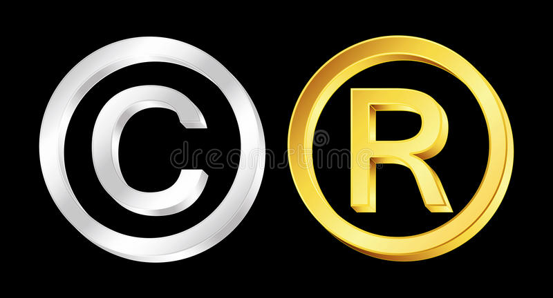 Download Copyright And Reserved Signs Stock Vector - Image: 23319408