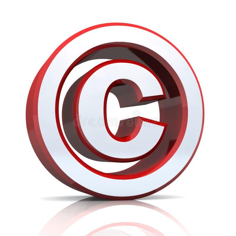 Copyright tecken vektor illustrationer