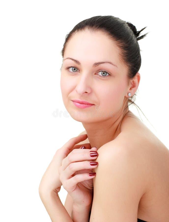 Download Copyspace biała kobieta zdjęcie stock. Obraz złożonej z piękny - 13334170