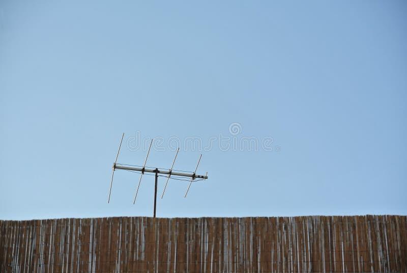 Copyspace Del Communicationwith Dell Antenna Immagine Stock Libera da Diritti