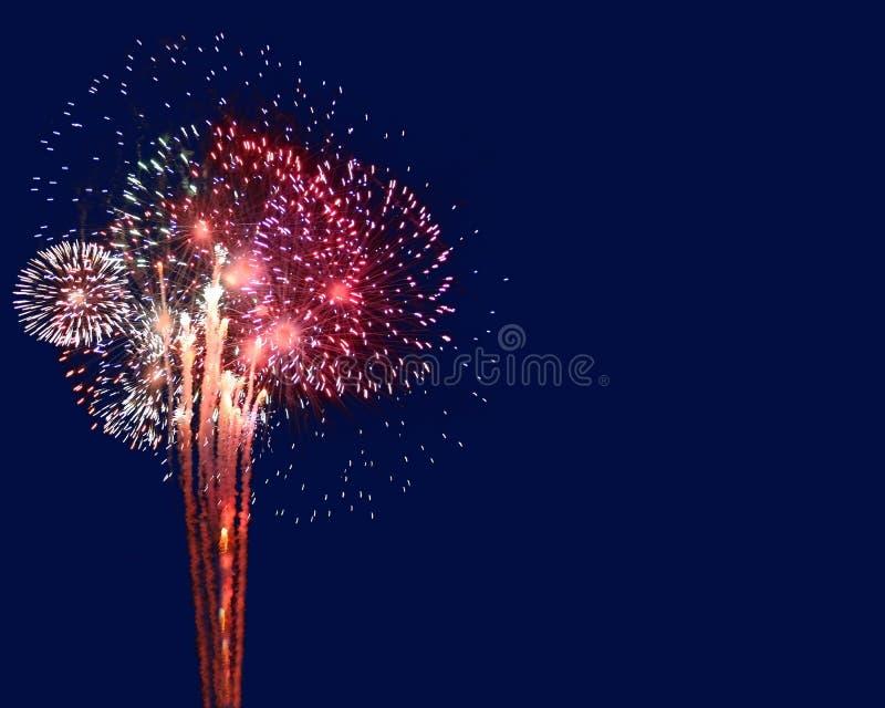 copyspace fireworks στοκ εικόνες με δικαίωμα ελεύθερης χρήσης
