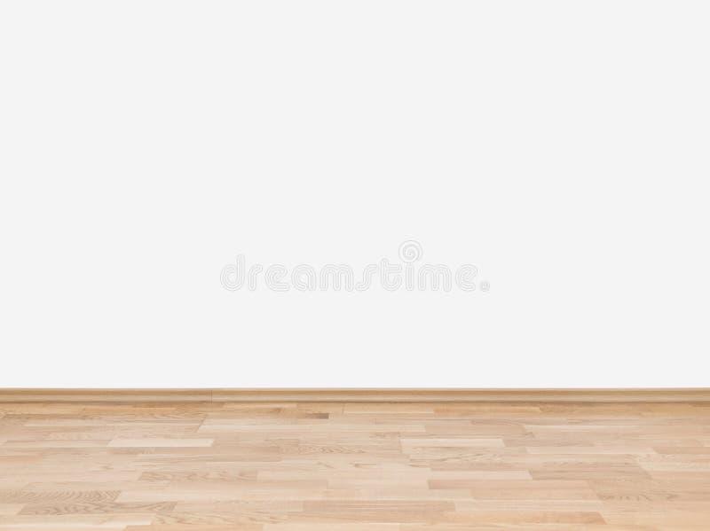 leere wei e wand mit h lzernem boden stockbild bild von braun haus 29807603. Black Bedroom Furniture Sets. Home Design Ideas