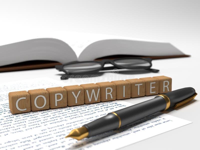 copywriter fotografía de archivo