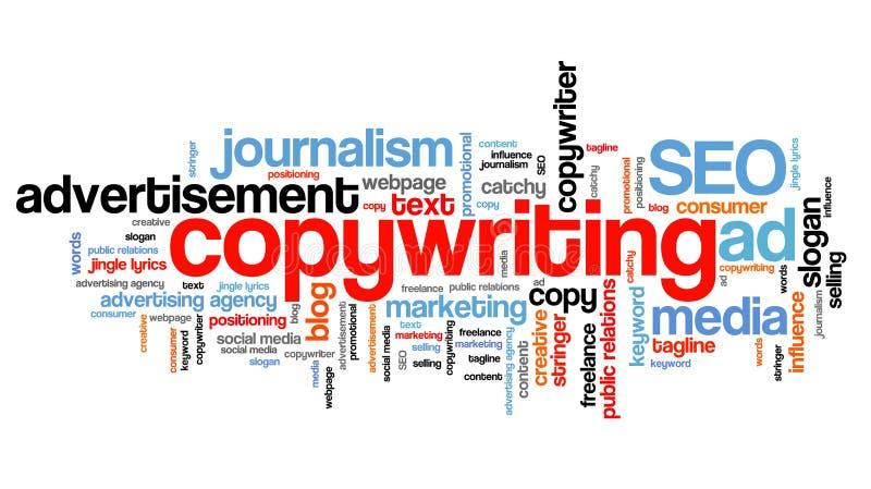 Copywriting 向量例证